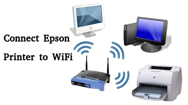 How to Connect Epson Printer to WiFi | on Mac | Windows 10