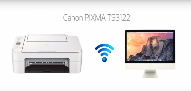How to Connect Canon TS3122 Printer to WiFi | Mac | Windows