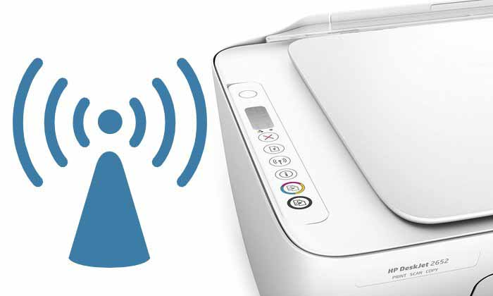 How to Connect HP Deskjet 2652 to WiFi | Mac | Windows