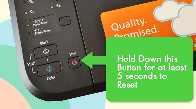 How to Reset Canon Printer | Hard Reset | Factory Reset?